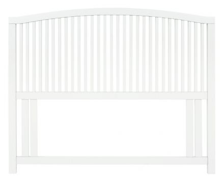 Ashby White Painted King-Sized Headboard